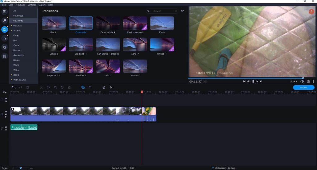 Movavi video editor magyar