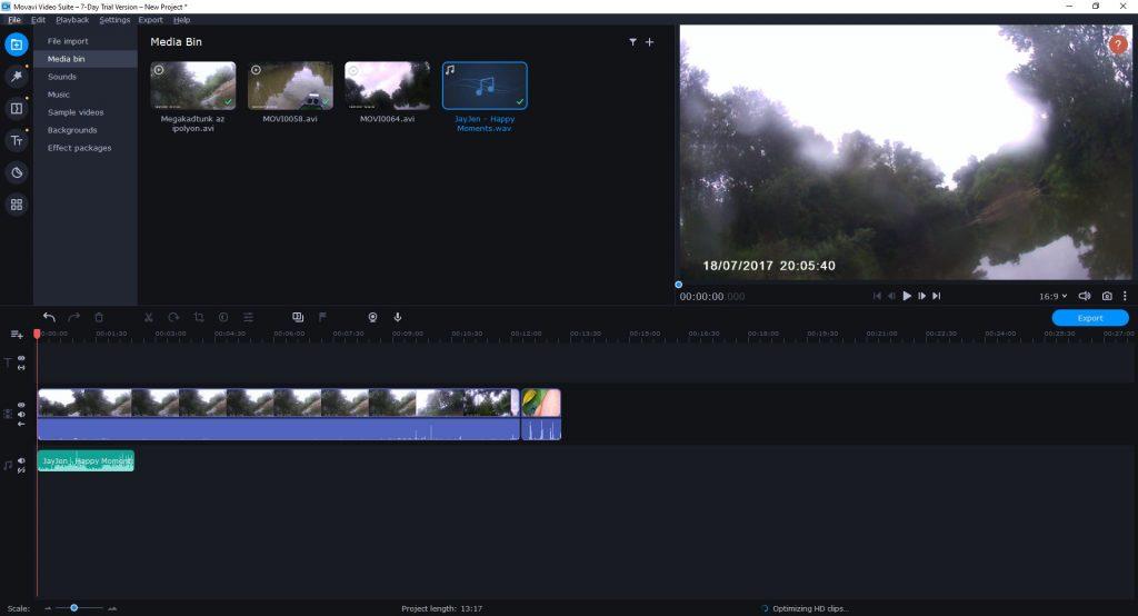 videó szerkesztő program ingyenes